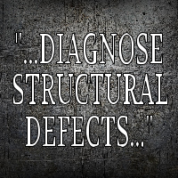 DIAGNOSE STRUCTURAL DEFECTS